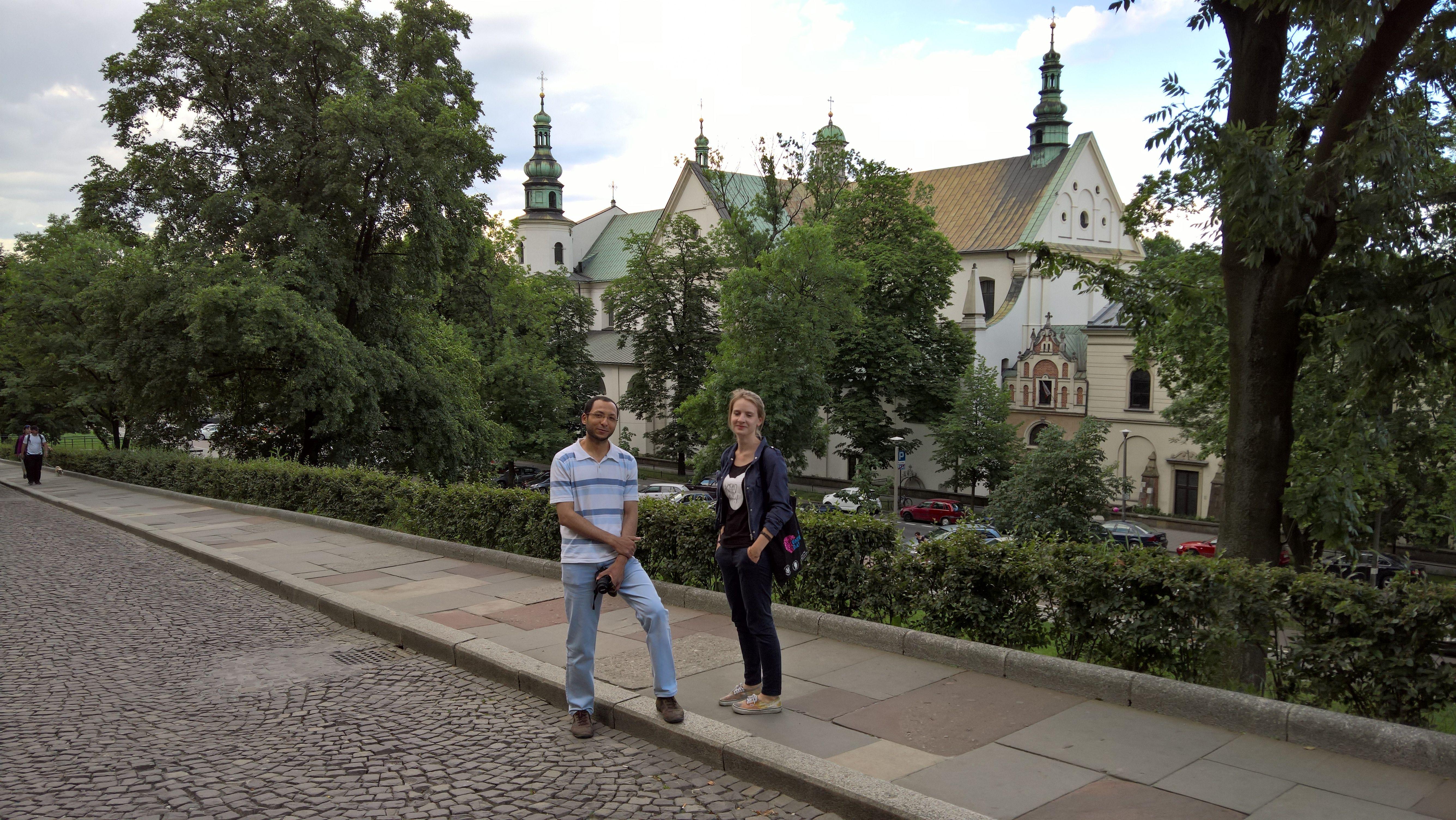 Going towards Kazimierz