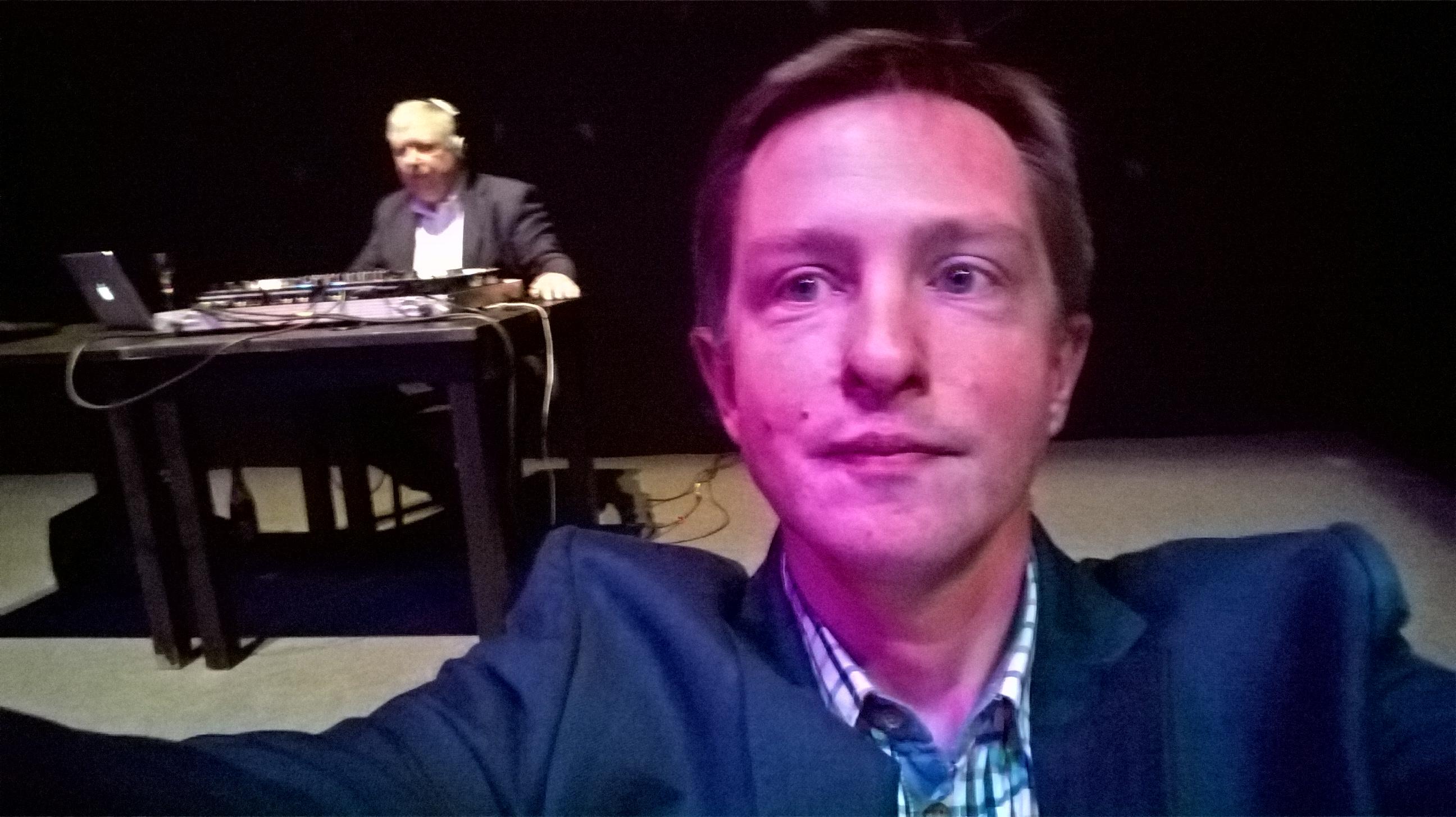 Selfie with Marek Sierocki