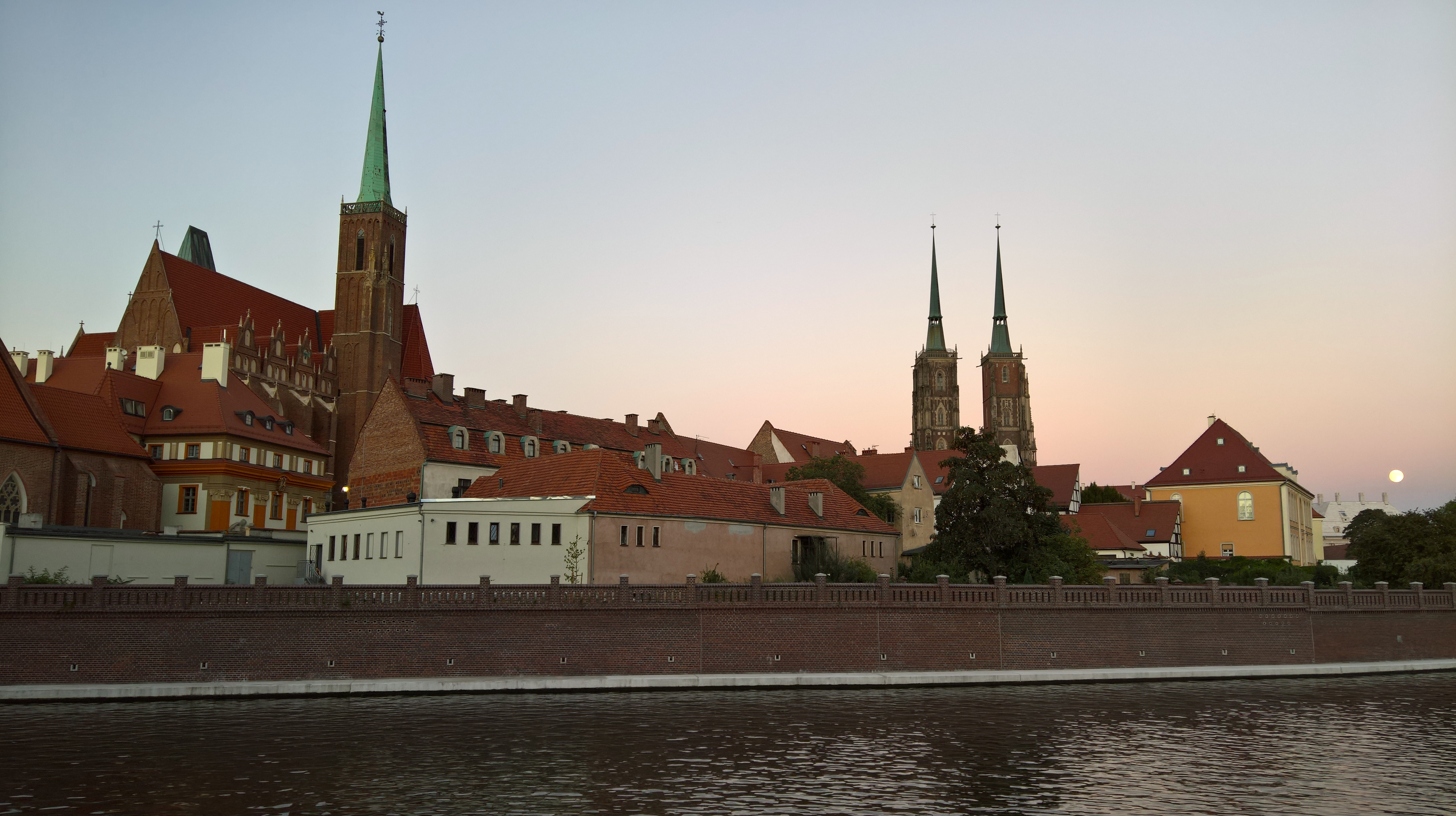 Wrocław - the city of a thousand bridges (and a thousand church spires)